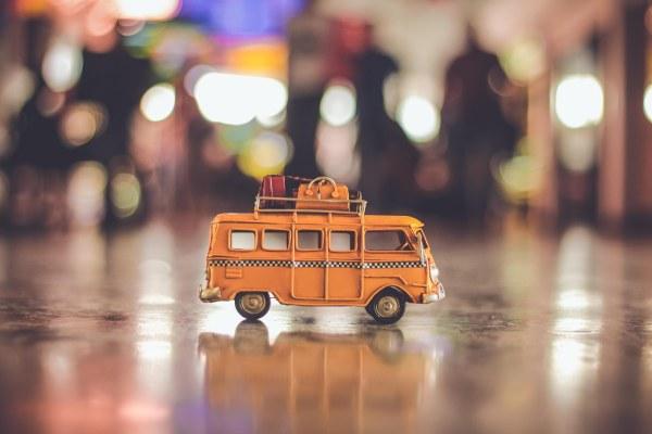 bus - night