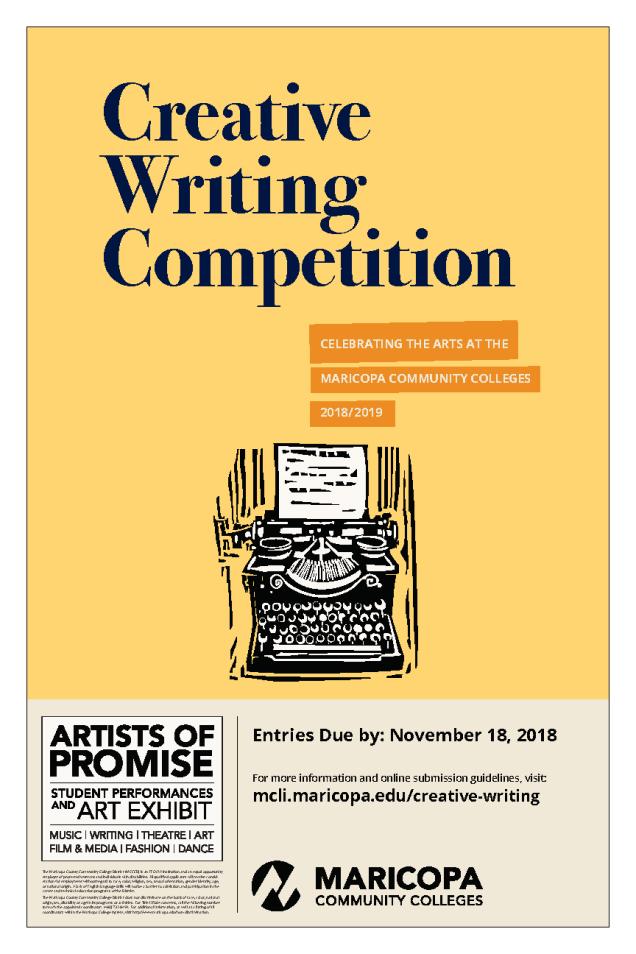 AOP 18-19 Poster CREATIVE WRITING
